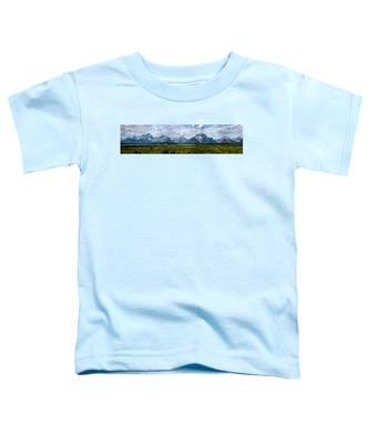 Tetons - Panorama Toddler T-Shirt