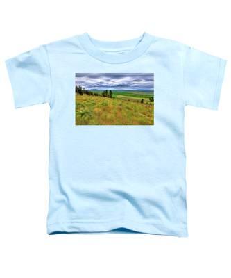 The Grasses Of Kamiak Butte Toddler T-Shirt