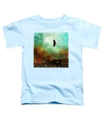 Treetop Eagle Flight Toddler T-Shirt