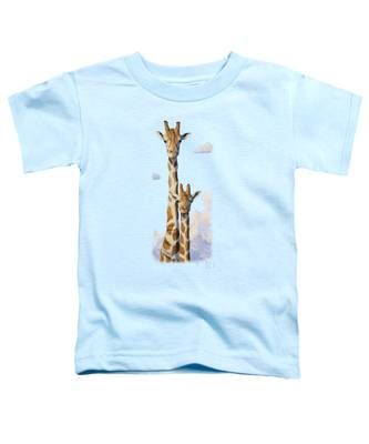 Two Heads In The Clouds Toddler T-Shirt