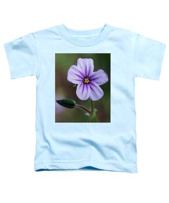 Wilderness Flower 3 Toddler T-Shirt