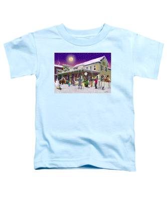 Zebs General Store In North Conway New Hampshire Toddler T-Shirt