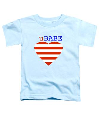 Hearts And Stripes Toddler T-Shirt