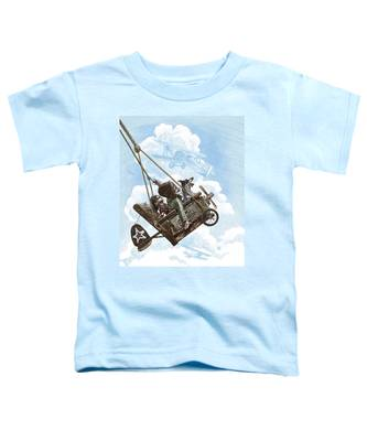 I Want To Fly Toddler T-Shirt