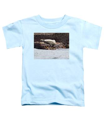Harbor Seal - Supporting World Wide Fund For Nature Toddler T-Shirt