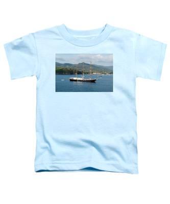 Signora Del Vento, Anchored At Portoferraio, Elba Toddler T-Shirt