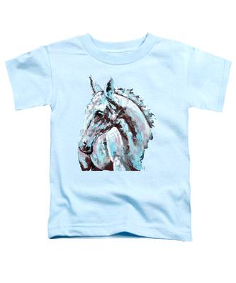 White Horse Toddler T-Shirt