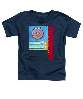 Toddler T-Shirt featuring the photograph Old School by Skip Hunt