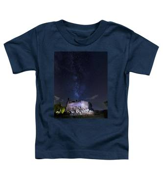 Big Muskie Bucket Milky Way And A Shooting Star Toddler T-Shirt