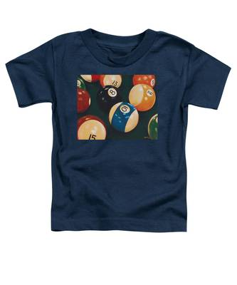 Billiards Toddler T-Shirt