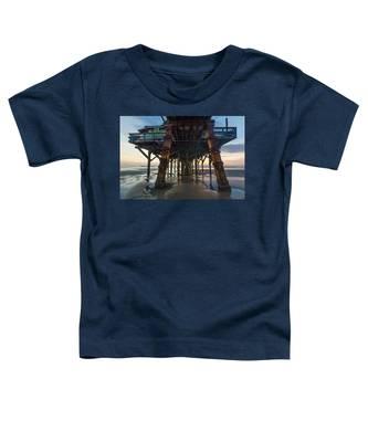 Daytona Beach Shores Pier Toddler T-Shirt