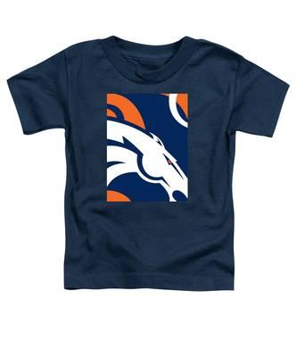 Denver Broncos Football Toddler T-Shirt
