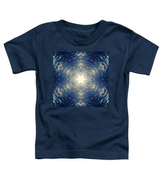 Toddler T-Shirt featuring the photograph Reflective Ice I by Derek Gedney