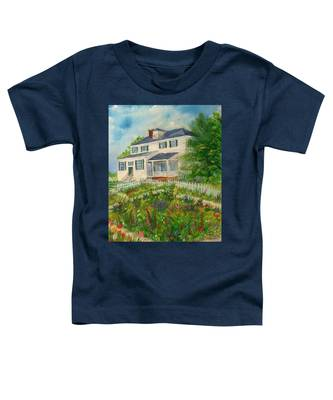 Spring In Colonial Williamsburg- Cole House Toddler T-Shirt