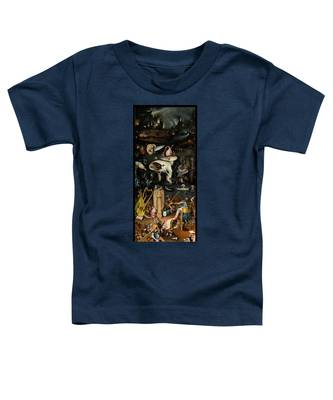The Garden Of Earthly Delights. Right Panel Toddler T-Shirt