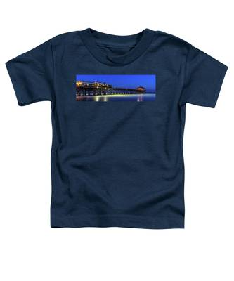 Cocoa Beach Pier At Twilight Toddler T-Shirt