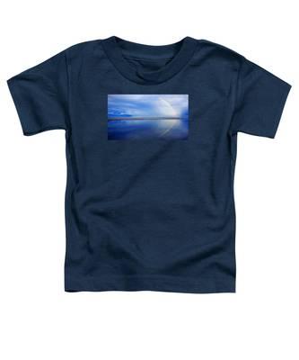 Beach Rainbow Reflection Toddler T-Shirt