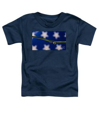 flag on a Wire Toddler T-Shirt