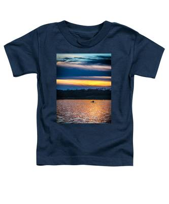 Kayak Sunset Toddler T-Shirt