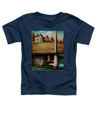 Reflection Of Protection. Toddler T-Shirt