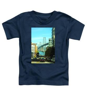 San Francisco Street Toddler T-Shirt