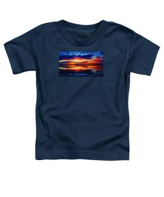 Sunrise Rainbow Reflection Toddler T-Shirt