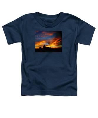 Sunset Ybor City Tampa Florida Toddler T-Shirt