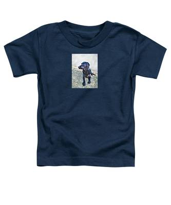 Black Labrador Retriever - Daisy Toddler T-Shirt