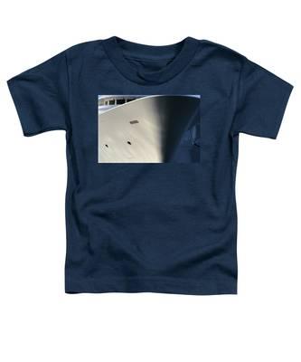 Bow Of Mega Yacht Toddler T-Shirt