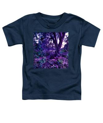 Toddler T-Shirt featuring the photograph Dreamy Desert Wash  by Judy Kennedy
