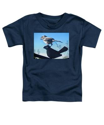 Toddler T-Shirt featuring the photograph Caption This by Judy Kennedy