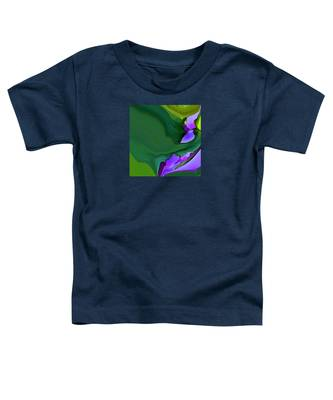 Orchids And Emeralds Toddler T-Shirt