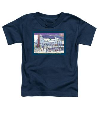 Waterville Valley At Wintertime Toddler T-Shirt