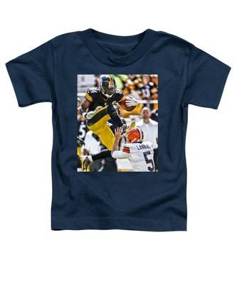 Antonio Brown Toddler T-Shirts
