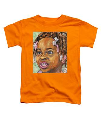 Girl With Dread Locks Toddler T-Shirt