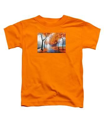 Autumn Boulevard Toddler T-Shirt