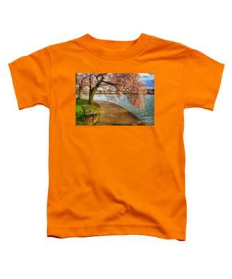 Meet Me At Our Bench Toddler T-Shirt