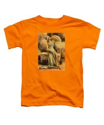 Portrait Of Jean Harlow Toddler T-Shirt