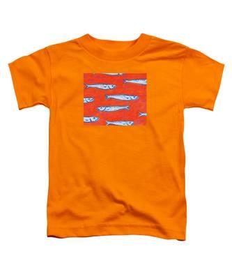 Swimming Upstream Toddler T-Shirt