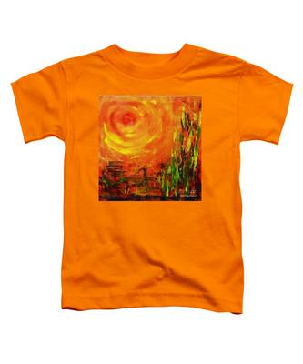 The Sun At The End Of The World Toddler T-Shirt