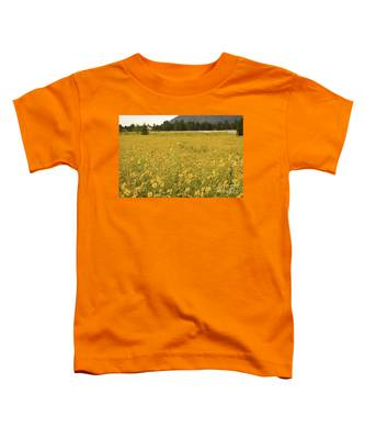 Field Of Yellow Daisy's Toddler T-Shirt