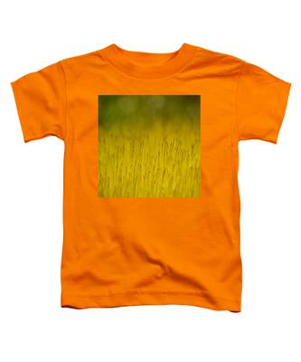 Moss In Yellow Toddler T-Shirt