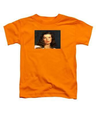 Portrait Of Katherine Hepburn Toddler T-Shirt