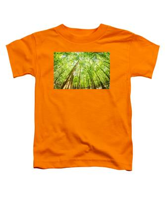 cypress forest and swamp of Congaree National Park in South Caro Toddler T-Shirt
