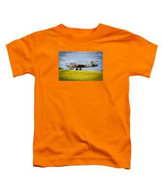 B-25 Landing Original Toddler T-Shirt