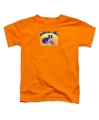 Border Collie Toddler T-Shirt