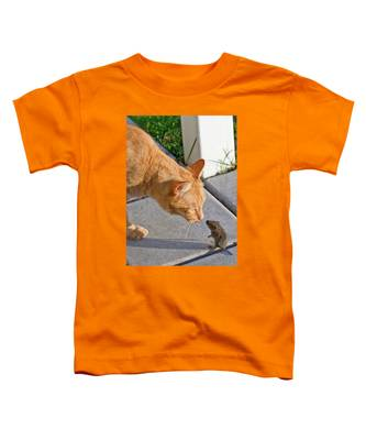 Cat And Mouse Toddler T-Shirt