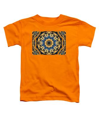 Dripping Gold Kaleidoscope Toddler T-Shirt