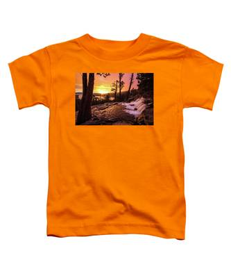 Eagle Falls Sunrise Toddler T-Shirt
