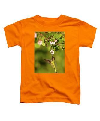 Hummingbird And Manzanita Blossom Toddler T-Shirt